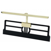 House of Troy Full-Width Brass LED Clip-On Piano Lamp