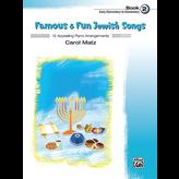 Schaum Famous & Fun Jewish Songs, Book 2