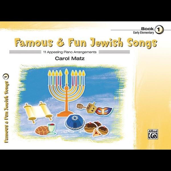 Schaum Famous & Fun Jewish Songs, Book 1