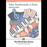 Alfred Music Valse Sentimentale à Deux