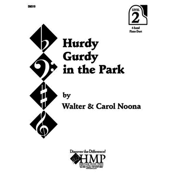 Heritage Music Press Hurdy Gurdy in the Park