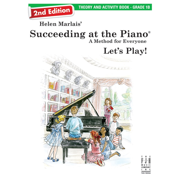 FJH Succeeding at the Piano Theory and Activity Book - Grade 1B (2nd edition)