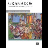 Alfred Music Granados: Allegro de Concierto, Op. 46