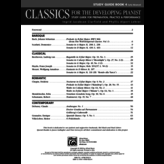 Alfred Music Classics for the Developing Pianist, Study Guide Book 4
