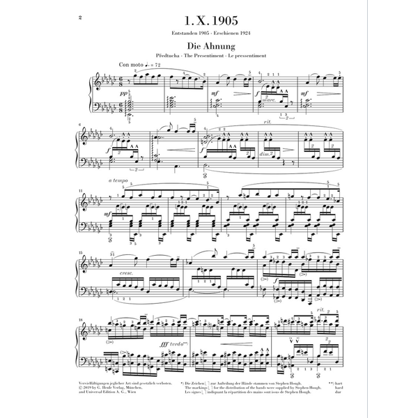 Hal Leonard Janácek - 1. X. 1905 Piano Sonata