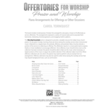 Alfred Music Offertories for Worship: Praise and Worship