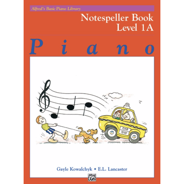 Alfred Music Alfred's Basic Piano Course: Notespeller Book 1A