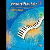 Alfred Music Celebrated Piano Solos, Book 4