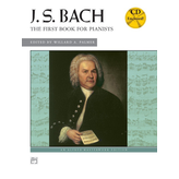 Alfred Music Bach - First Book for Pianists w/ CD