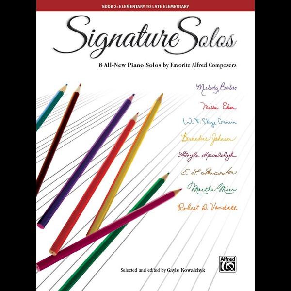 Alfred Music Signature Solos, Book 2