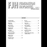 FJH FJH Federation Favorites, Book 1