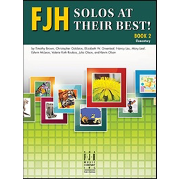 FJH FJH Solos at Their Best! Book 2