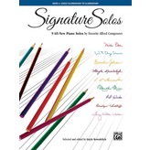 Alfred Music Signature Solos, Book 1