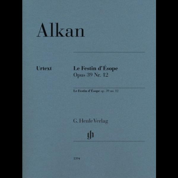 Hal Leonard Alkan - Le Festin d'Ésope, Op. 39, No. 12