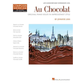 Hal Leonard Au Chocolat – Original Piano Solos in Impressionist Style