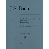 Henle Urtext Editions J.S. Bach - Harpsichord Concerto No. 1 in D Minor, BWV 1052