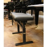 "Hidrau Model Hidrau Model 30"" Hydraulic Adjustable Piano Bench Vinyl"