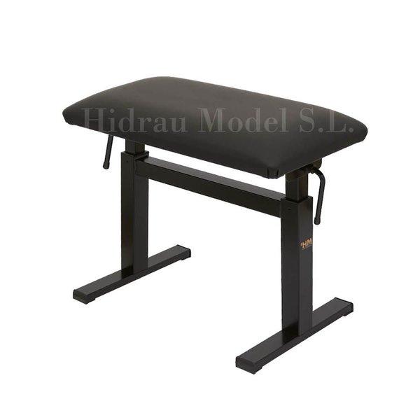 """Hidrau Model Hidrau Model 26"""" Hydraulic Adjustable Piano Bench Vinyl"""