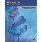 Alfred Music Mier - Concertino in Jazz Styles