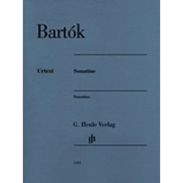Henle Urtext Editions Henle Urtext - Béla Bartók - Sonatine