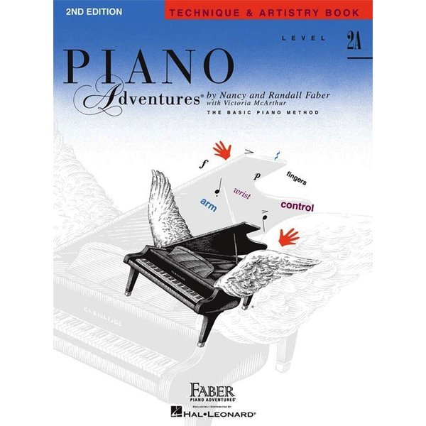 Faber Piano Adventures Faber Piano Adventures® Level 2A Technique & Artistry Book 2nd Edition