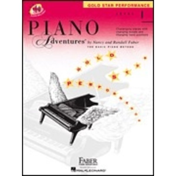 Faber Piano Adventures Faber Piano Adventures® Level 1 Gold Star Performance with CD