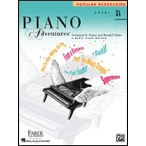Faber Piano Adventures Faber Piano Adventures® Level 3A Popular Repertoire Book