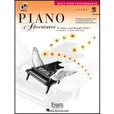 Faber Piano Adventures Faber Piano Adventures® Level 2B Gold Star Performance with CD
