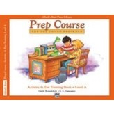 Alfred Music Alfred's Basic Piano Prep Course Activity & Ear Training Book A