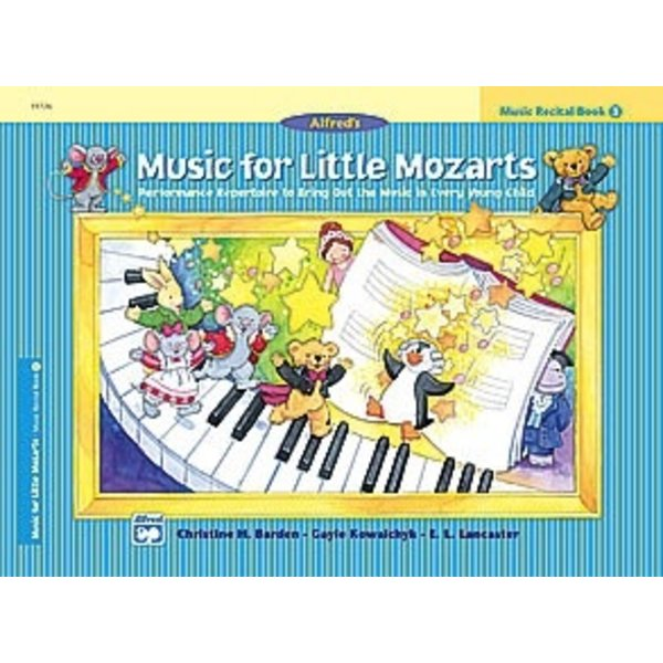 Alfred Music Music for Little Mozarts Music Recital Book 3