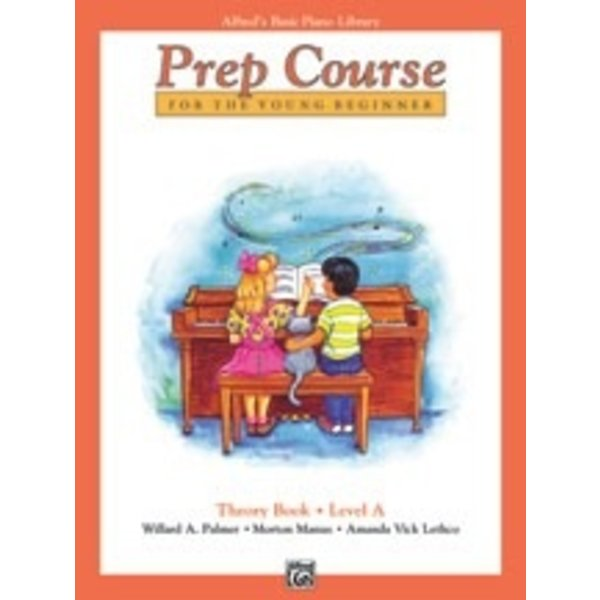 Alfred Music Alfred's Basic Piano Prep Course Theory Book A
