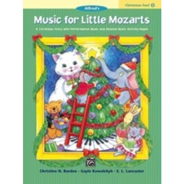 Alfred Music Music for Little Mozarts Christmas Fun! Book 2