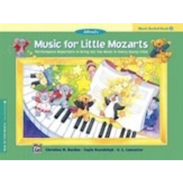 Alfred Music Music for Little Mozarts Music Recital Book 2