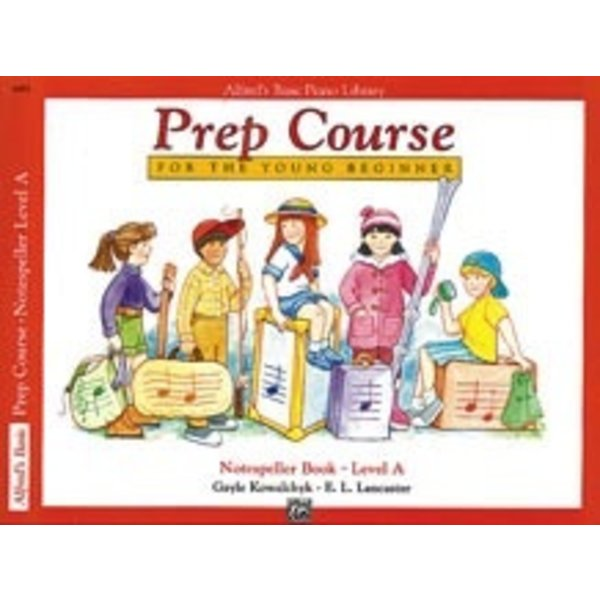 Alfred Music Alfred's Basic Piano Prep Course Notespeller Book A