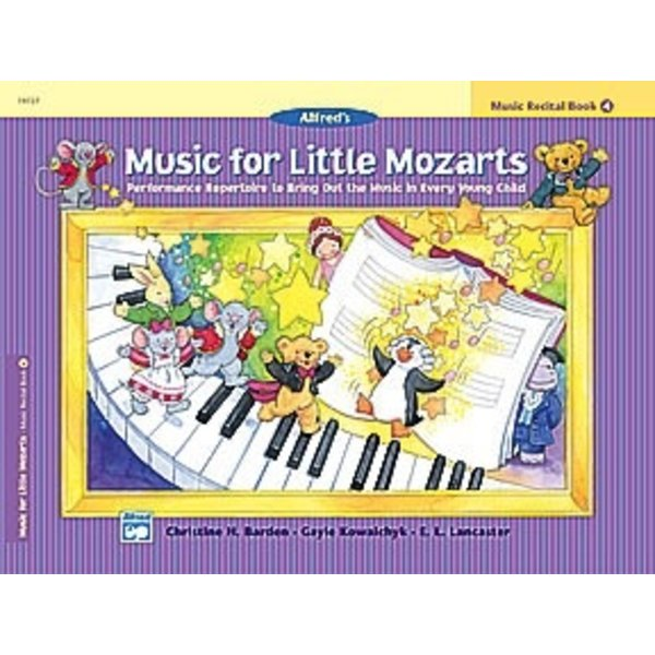 Alfred Music Music for Little Mozarts Music Recital Book 4