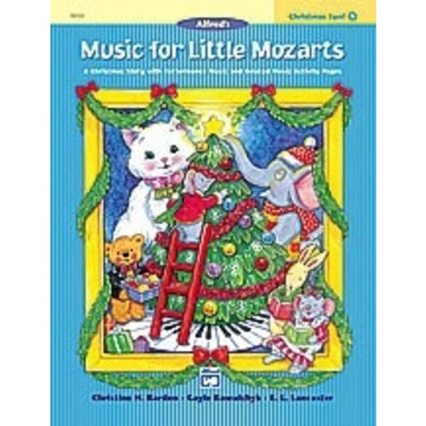Alfred Music Music for Little Mozarts Christmas Fun! Book 3