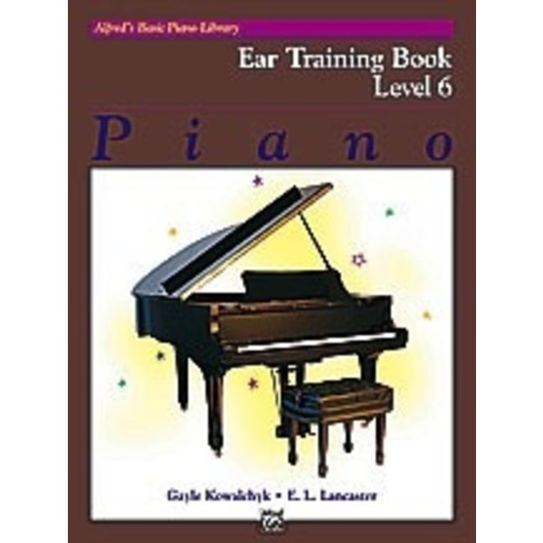 Alfred Music Alfred's Basic Piano Course: Ear Training Book 6