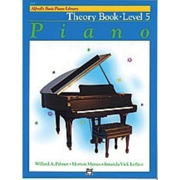 Alfred Music Alfred's Basic Piano Course: Theory Book 5