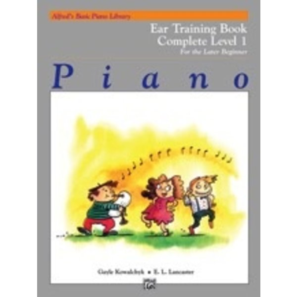 Alfred Music Alfred's Basic Piano Course: Ear Training Book Complete 1 (1A/1B)