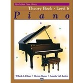 Alfred Music Alfred's Basic Piano Course: Theory Book 6