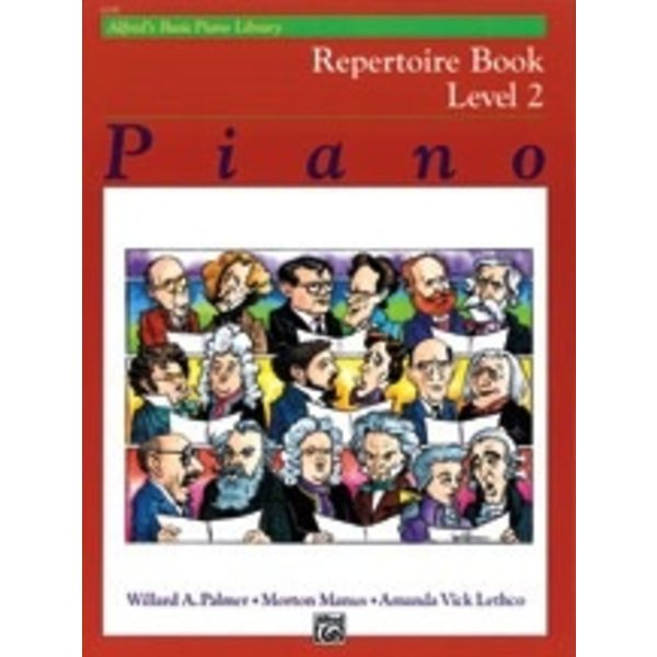 Alfred Music Alfred's Basic Piano Course: Repertoire Book 2