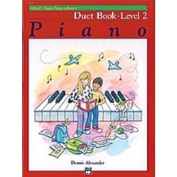 Alfred Music Alfred's Basic Piano Course: Duet Book 2