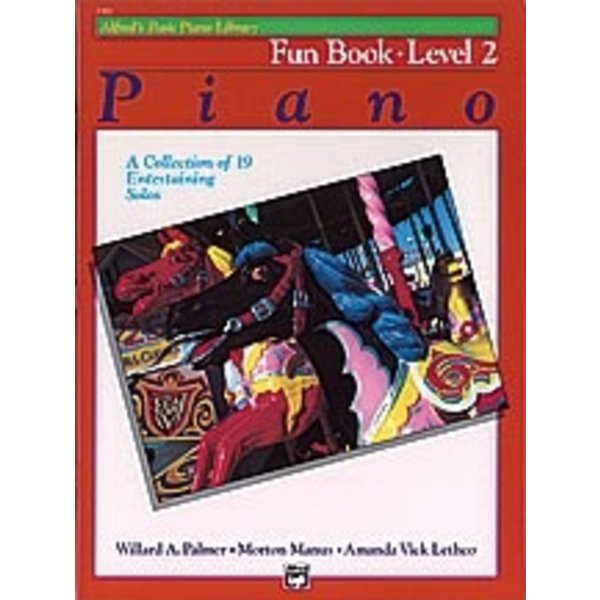 Alfred Music Alfred's Basic Piano Course: Fun Book 2