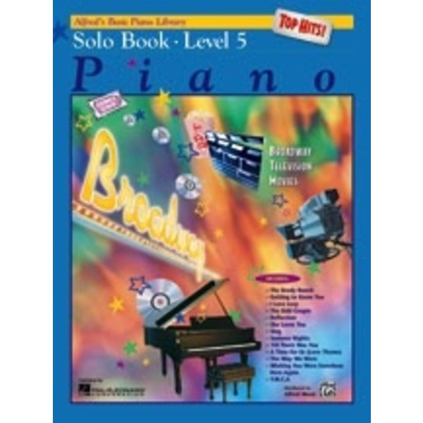 Alfred Music Alfred's Basic Piano Course: Top Hits! Solo Book 5