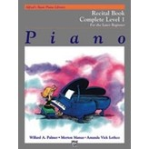 Alfred Music Alfred's Basic Piano Course: Recital Book Complete 1 (1A/1B)