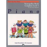 Alfred Music Alfred's Basic Piano Course: Notespeller Book Complete 1 (1A/1B)