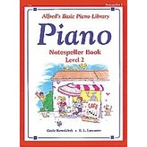 Alfred Music Alfred's Basic Piano Course: Notespeller Book 2