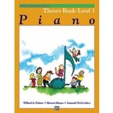Alfred Music Alfred's Basic Piano Course: Theory Book 3