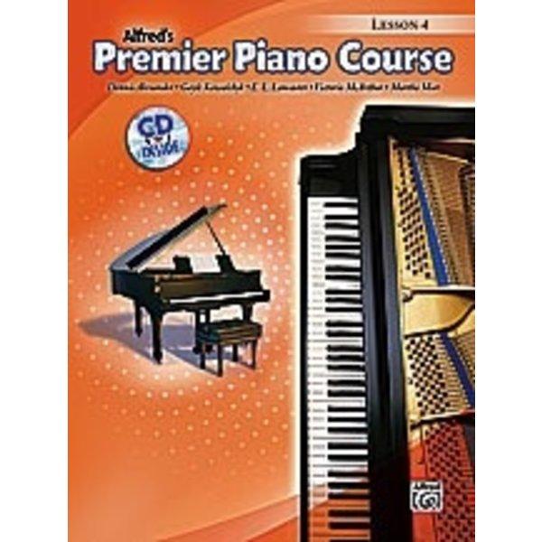 Alfred Music Premier Piano Course: Lesson Book 4 w/CD