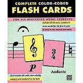 Alfred Music Alfred's 89 Color-Coded Flash Cards